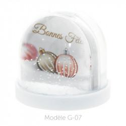 Boule à Neige Caméléon - Packaging personnalisable avec carte G-07