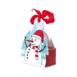 Boîte Sucre d'Orge - Packaging ludique à suspendre au sapin de Noël - Petit Modèle