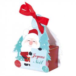 Boîte Sucre d'Orge - Packaging ludique à suspendre au sapin de Noël - Grand Modèle
