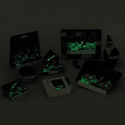 Santa Claus, des packagings Embaline Phosphorescents !