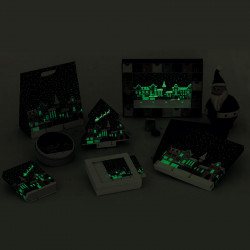 Santa Claus, des packagings Embaline Phosphorescents !