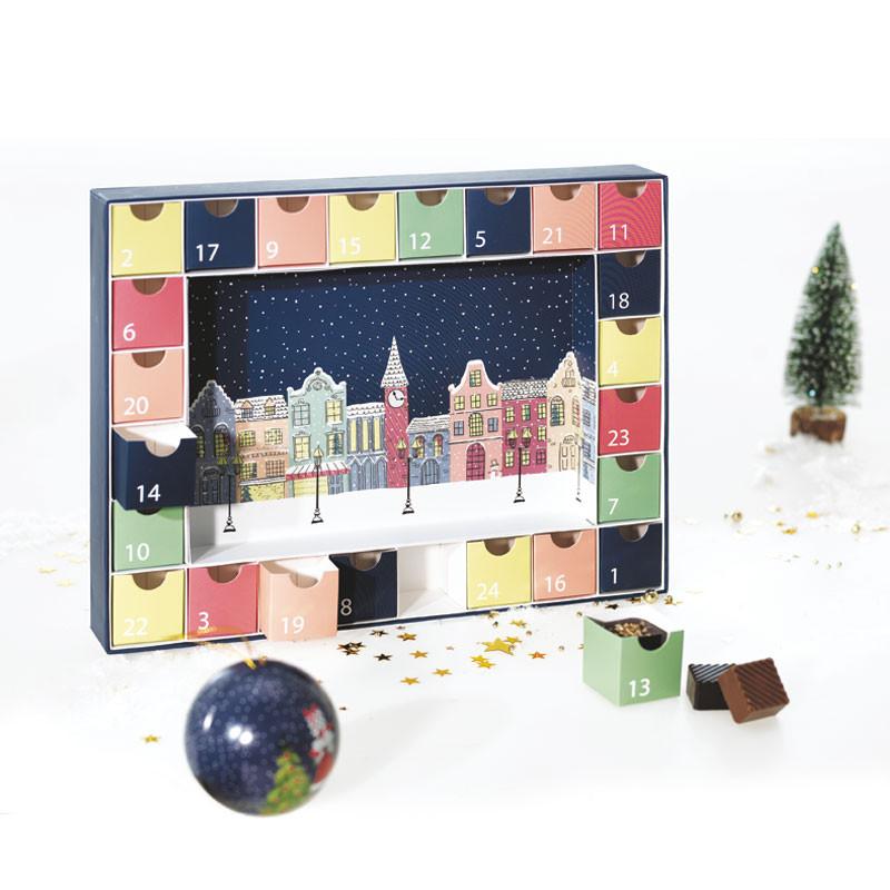Calendrier de l'Avent Santa Claus - Packaging Phosphorescent Magique !