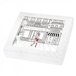 Packaging chocolats personnalisé - Nouveauté 2019 - Carte Caméléon B01
