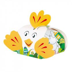 Rollande la poule pondeuse - Packaging pour Pâques - Ligne Cache Cache