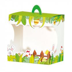 Sac Panoramique Poule Cache Cache - Fêtez Pâques avec nos packagings !