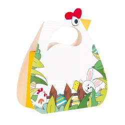 """Sac Rita - Gamme de Packagings de Pâques chocolatiers """"Cache Cache"""""""