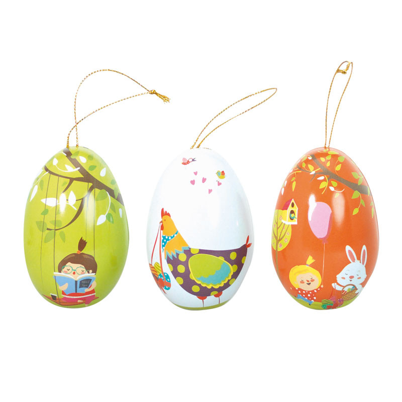 "Petits Œufs Métalliques ""Les Bambinos"" - Packagings chocolats Pâques"