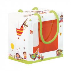 """Sac Boîte Poule """"Les Bambinos"""" - Fêtez Pâques avec nos packagings !"""
