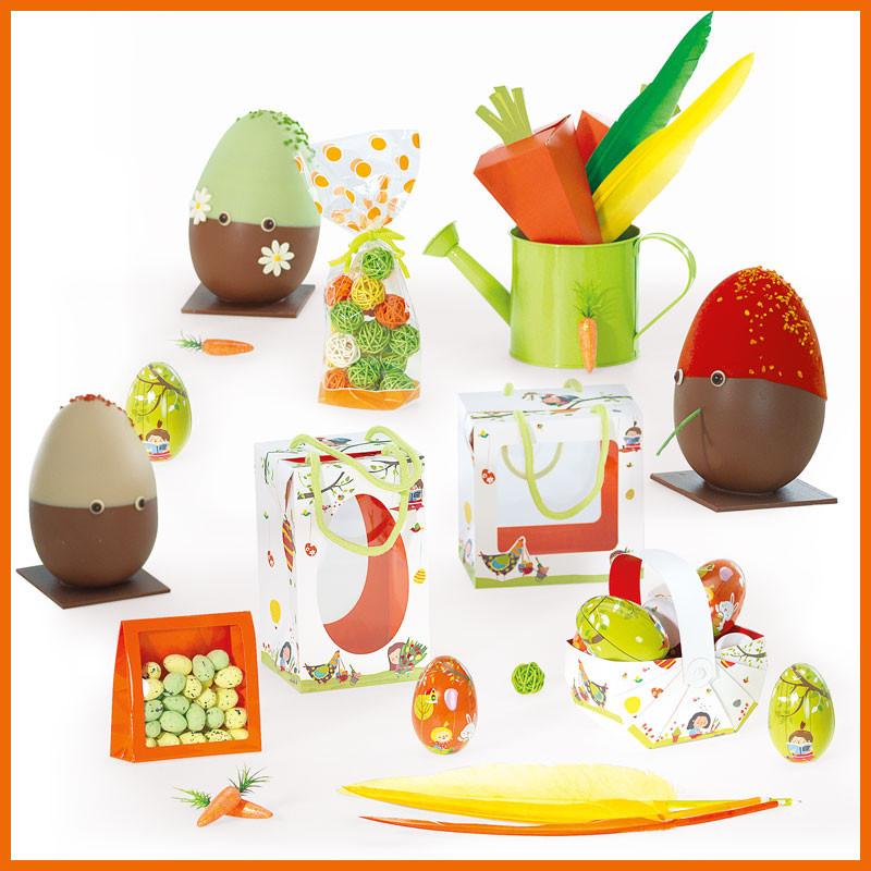 Le Kit des Bambinos - Gamme de Packagings de Pâques pour chocolatier