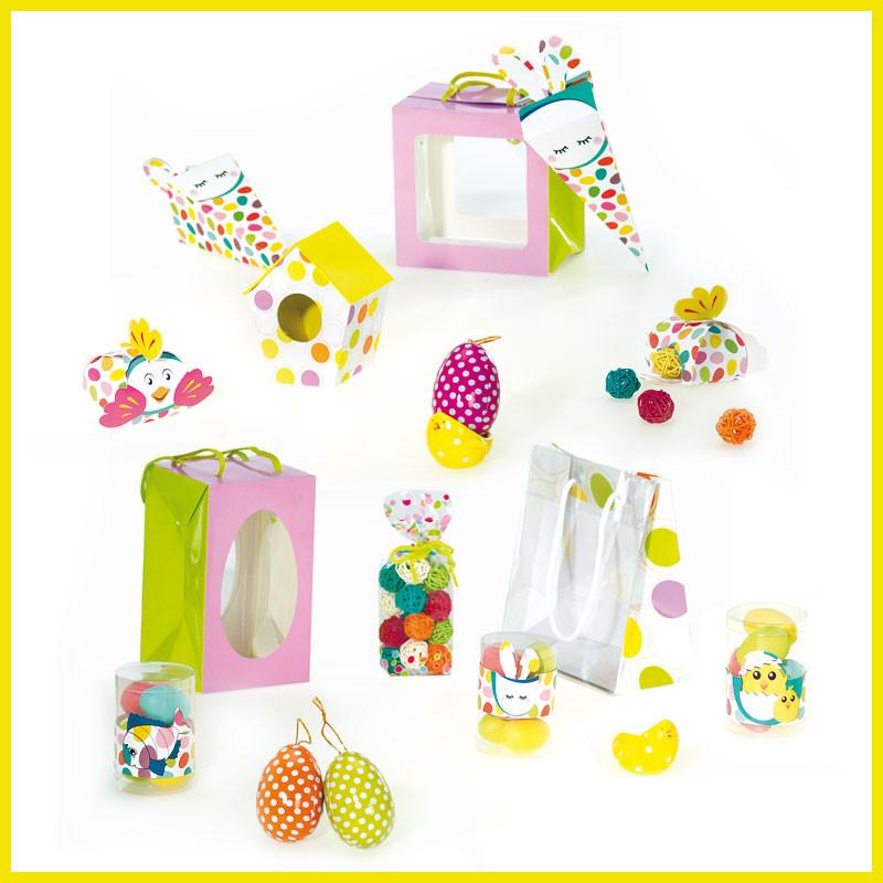 Kit Pâques en Folie - Gamme de Packagings de Pâques pour chocolatier