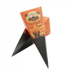 Emballage alimentaire amusant chocolat - Cornet Surprise Halloween