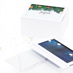 Boîte Coffret Cadeau Caméléon - Packaging personnalisable à souhait ! (suggestion de présentation) - Livraison à plat