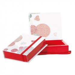 """Boîte Carnet """"Passion"""" - Packaging St-Valentin pour chocolatier"""