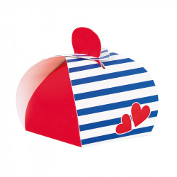 "Laureen ""Lovely Navy"" - Packaging Saint Valentin pour chocolatiers"