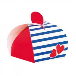 "Laureen ""Lovely Navy"" - Packaging Saint Valentin pour chocolatiers"
