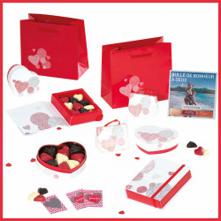 """Passion"", le Jeu - Packagings chocolats pour la Saint-Valentin"