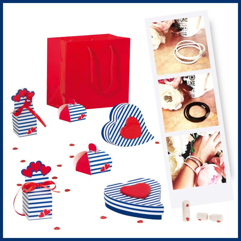 """""""Lovely Navy"""", le Jeu - Packagings chocolats pour la Saint-Valentin"""