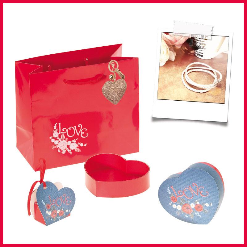 Lov' Forever, le Jeu - Packagings chocolats pour la fête des amoureux