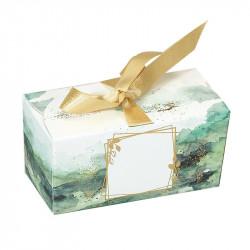 Packaging de luxe pour chocolatiers exigeants - Ballotin Ruban Esquisse - Verso