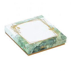 Molière Esquisse - Boîte carrée en papier recyclé et encres au soja