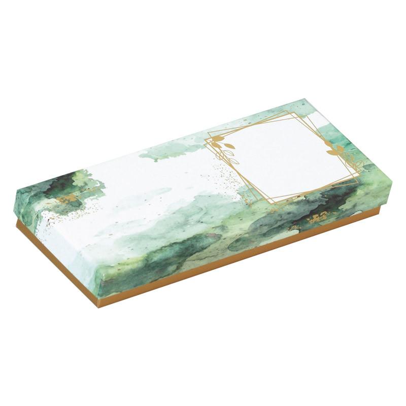 Mérimée Esquisse - Boîte rectangulaire en papier recyclé et encres au soja