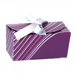 Packaging de luxe pour chocolatiers - Ballotin Ruban Onduline
