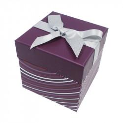 Baudelaire Onduline - Emballage cubique de luxe pour une présentation raffinée