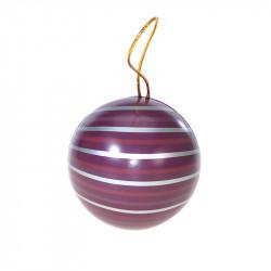 Boîte boule métallique Onduline - Packaging chocolatiers Confiseurs