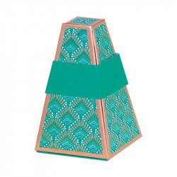 Millésime Luminia fermée - Boîte Pyramide Tronquée - Phosphorescente !