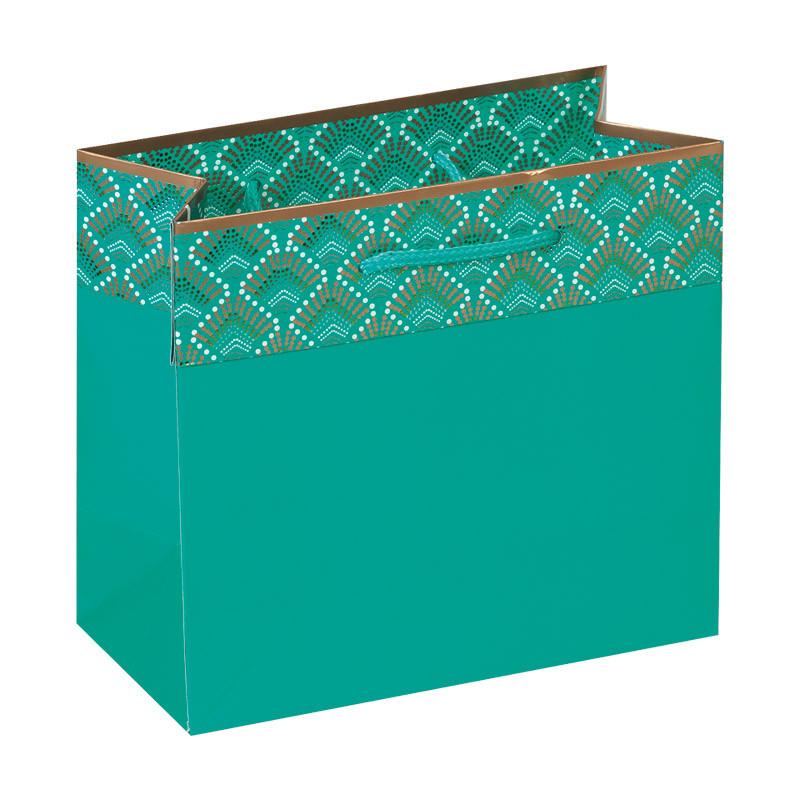 Sac vert Luminia - Motifs imprimés à l'encre phosphorescente !