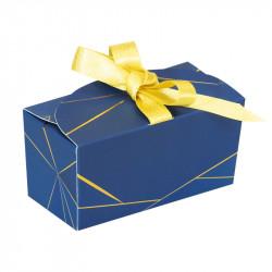 Packaging de luxe pour chocolatiers - Ballotin Ruban Géométrika