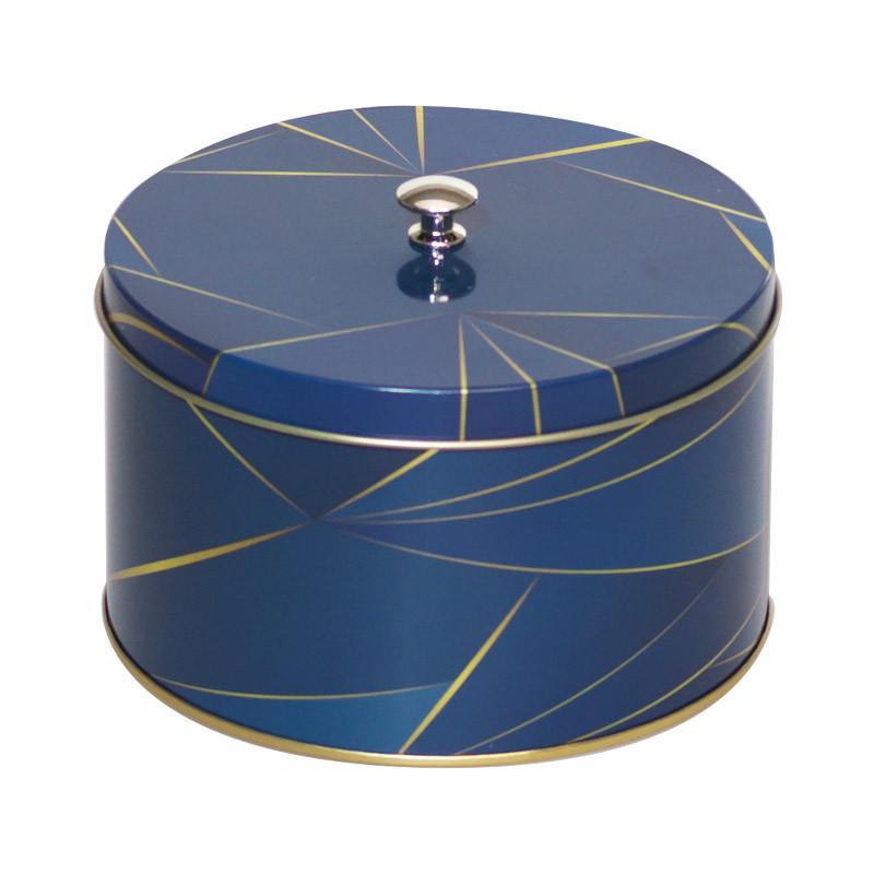 Louison Géométrika - Boîte métallique pour artisans macaroniers