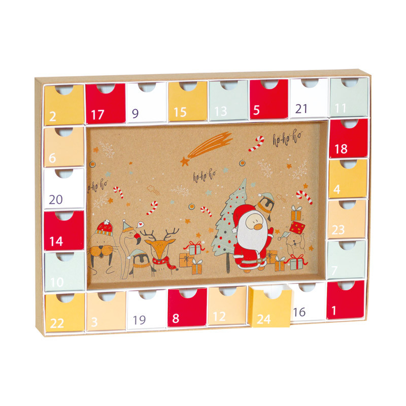 Calendrier de l'Avent Noël & Co - Packaging pour chocolats de Noël !