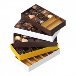 Molière rectangle Chocolat