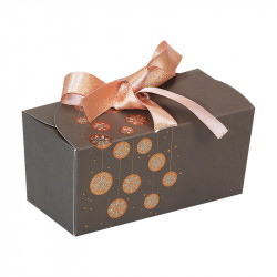 Packaging de luxe pour chocolatiers - Ballotin Ruban Guirlande