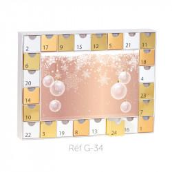 Calendrier de l'Avent Caméléon Imprimé - Décors illimités à imprimer ! G34