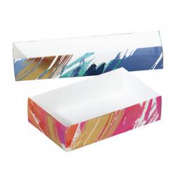 Boîte macarons Aquarelle - Packagings pour professionnels exigeants !