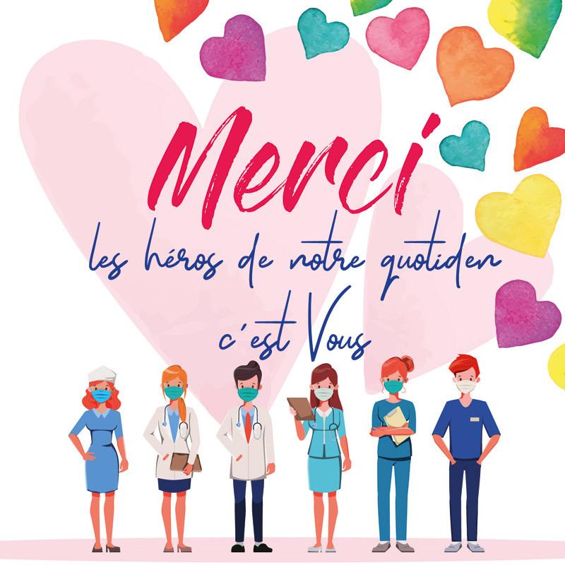 """""""Merci, les Héros du Quotidien, c'est vous !"""" - Carte Caméléon I-57"""