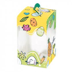 Packaging chocolats Pâques - Sac Panoramique Œuf Les Carottes en folie