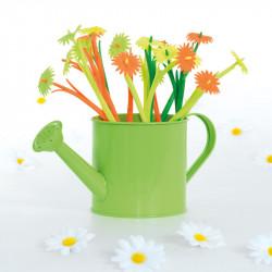 """Constituez une magnifique vitre de Pâques avec notre Kit """"Pâquerettes"""" - 6 stylos fleur offerts !"""