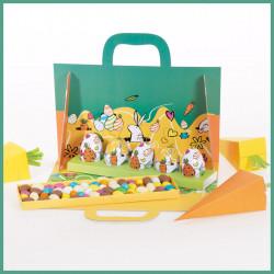 """Kit """"Les Carottes en folie"""" - Des Packagings clé en main pour Pâques"""
