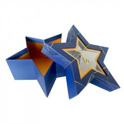 Étoile Géométrika - Packaging moderne avec fenêtre transparente