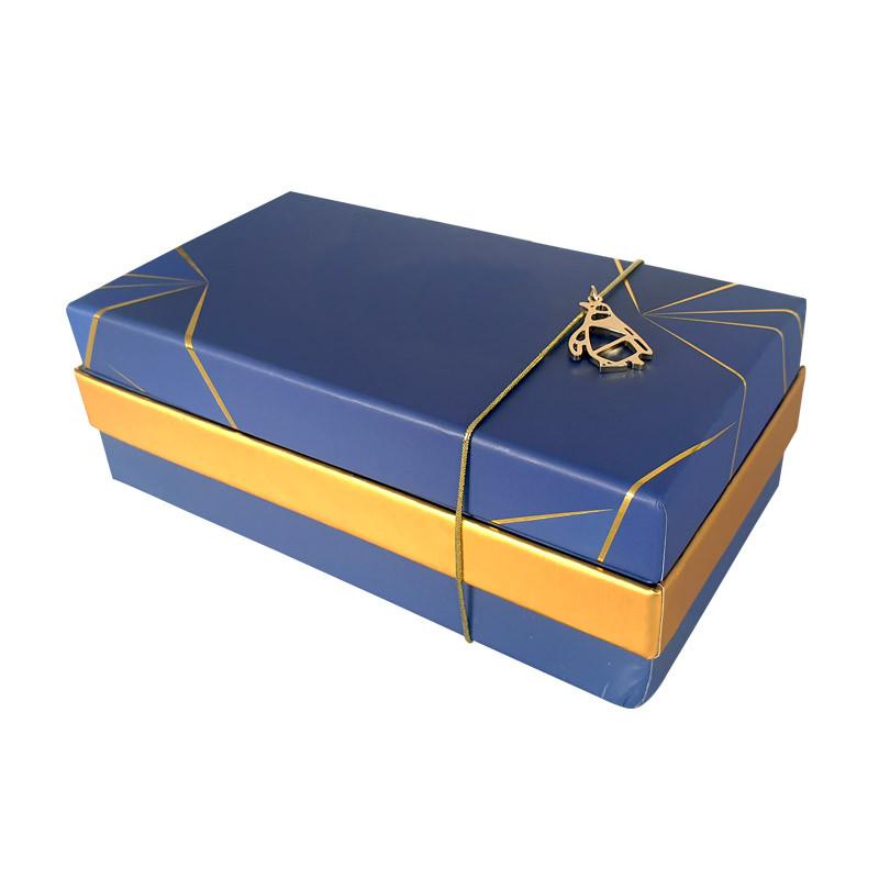 Emballage grand luxe pour chocolatiers pâtissiers - Balzac Géométrika