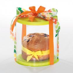 Boîte Calisto Ronde verticale Verte  - Pour présenter toutes vos créations pour Pâques