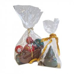 """Sachet """"spécial moulages"""", emballage pour chocolatiers pâtissiers"""