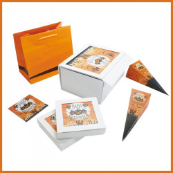Kit Halloween - Gamme de Packagings d'Halloween