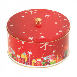 """Louison """"Magique"""" - Boîte ronde métallique pour chocolat et confiserie"""