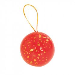 Boîte boule métallique Féérique - A poser ou à suspendre sur le sapin