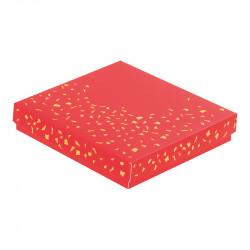 """Molière """"Féérique"""" - Packaging au format carré rouge et or crépitant !"""