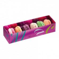 Boîte macarons Arabesques